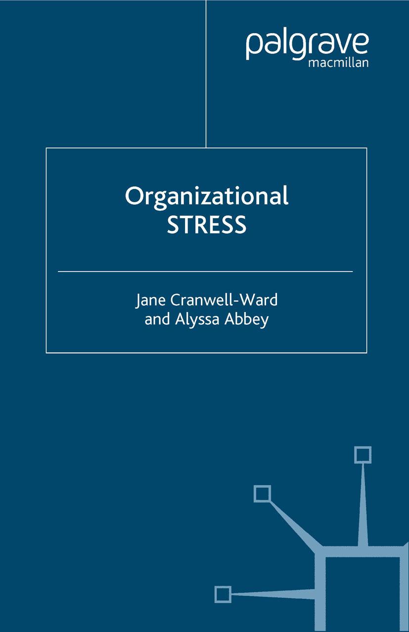 Abbey, Alyssa - Organizational Stress, ebook