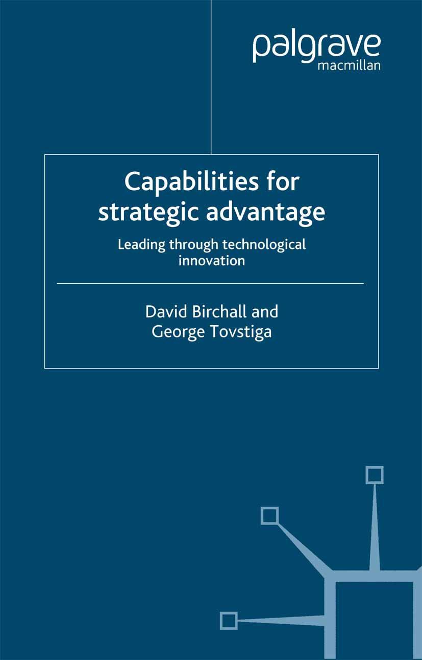Birchall, David - Capabilities for strategic advantage, e-bok