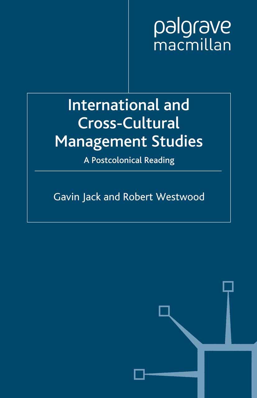 Jack, Gavin - International and Cross-Cultural Management Studies, ebook