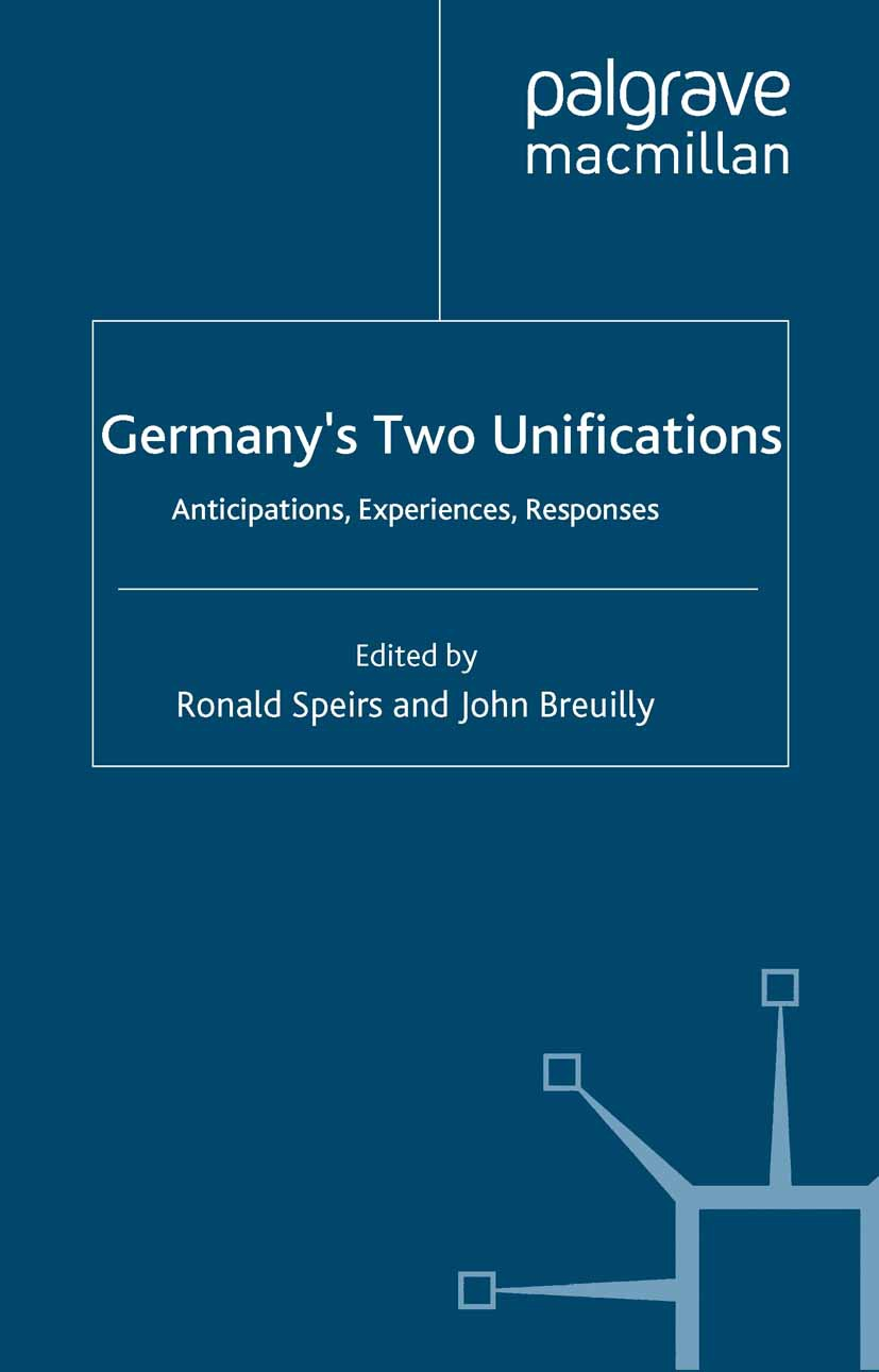 Breuilly, John - Germany's Two Unifications, e-kirja
