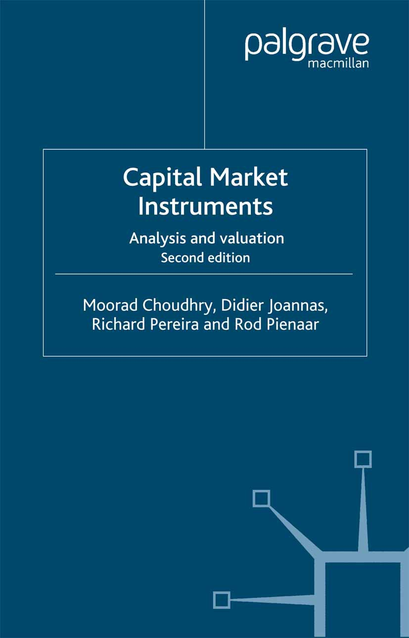 Choudhry, Moorad - Capital Market Instruments, ebook