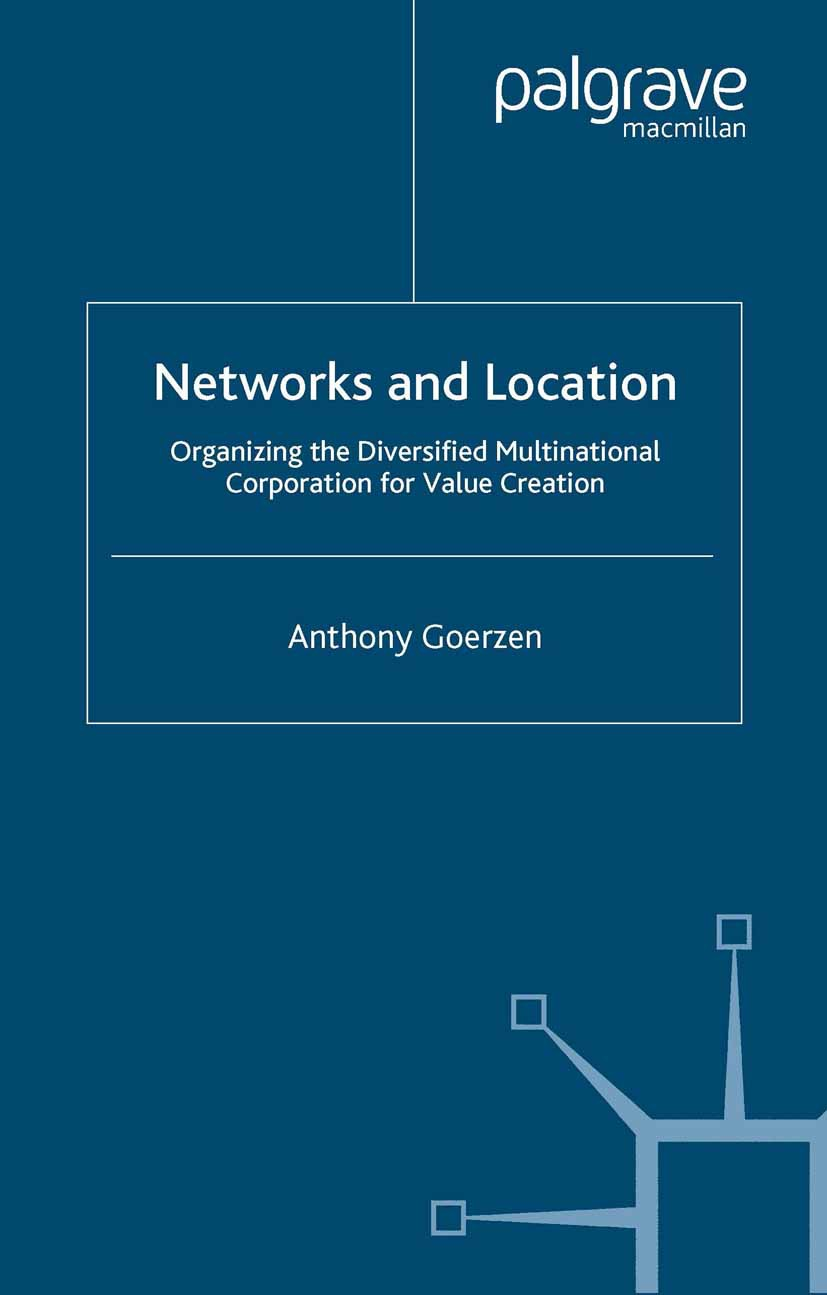 Goerzen, Anthony - Networks and Location, ebook