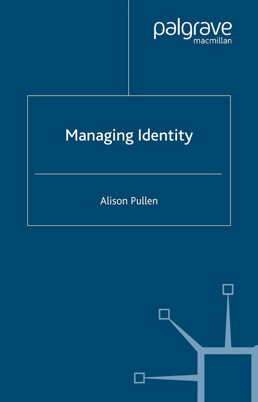 Pullen, Alison - Managing Identity, ebook