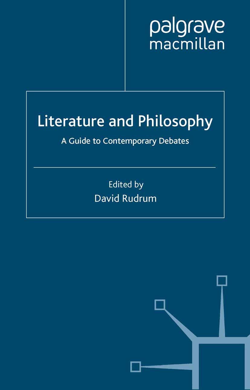 Rudrum, David - Literature and Philosophy, ebook