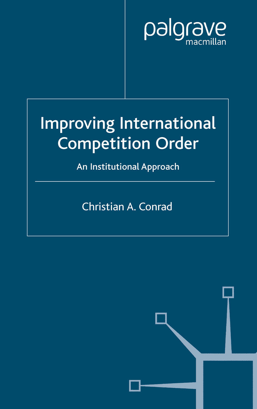 Conrad, Christian A. - Improving International Competition Order, ebook