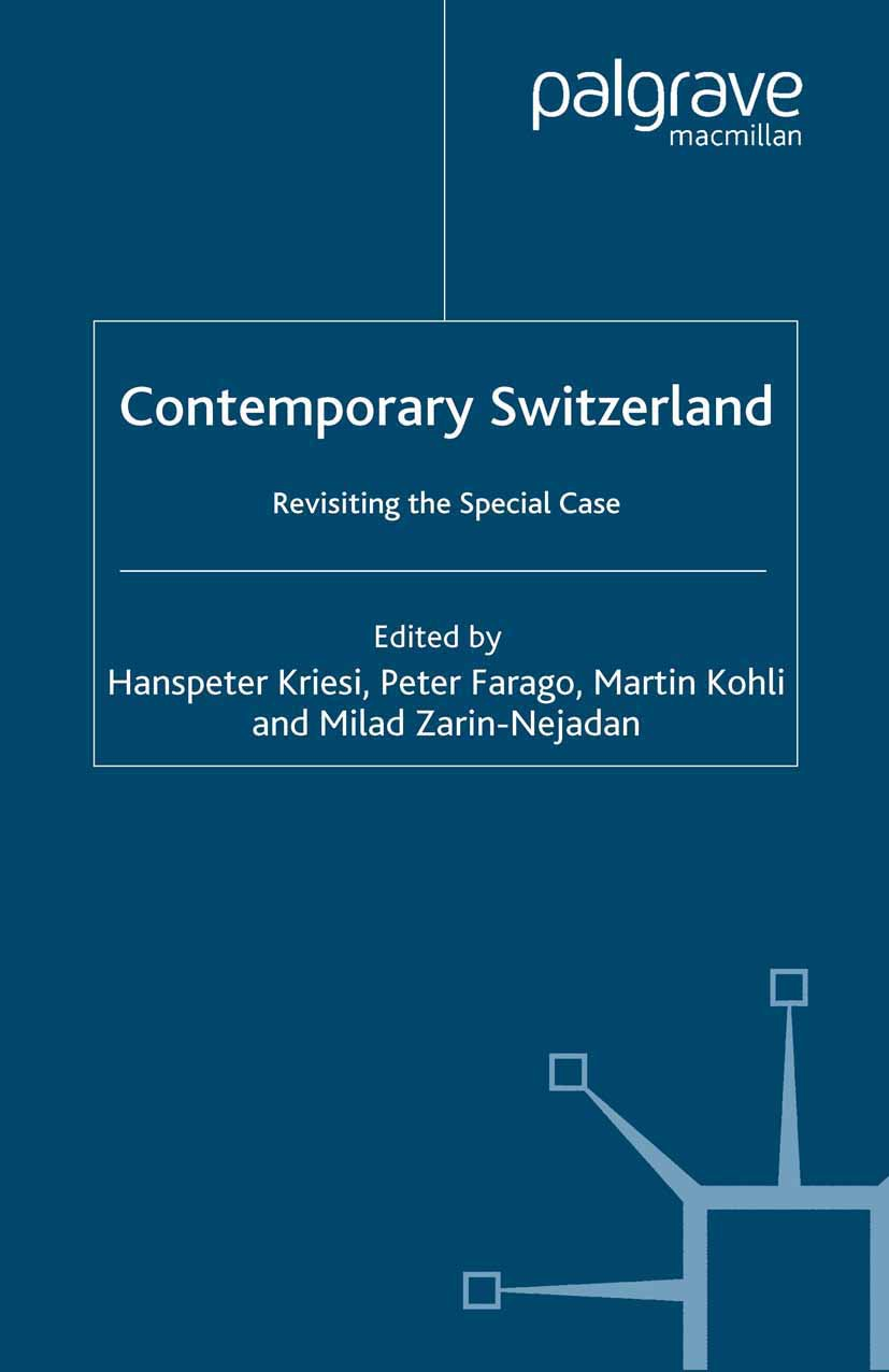 Farago, Peter - Contemporary Switzerland, ebook