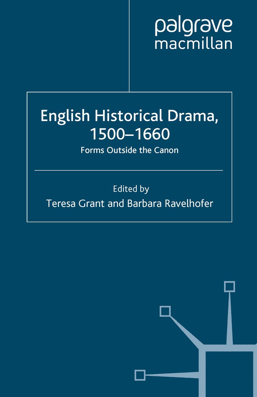 Grant, Teresa - English Historical Drama, 1500–1660, ebook