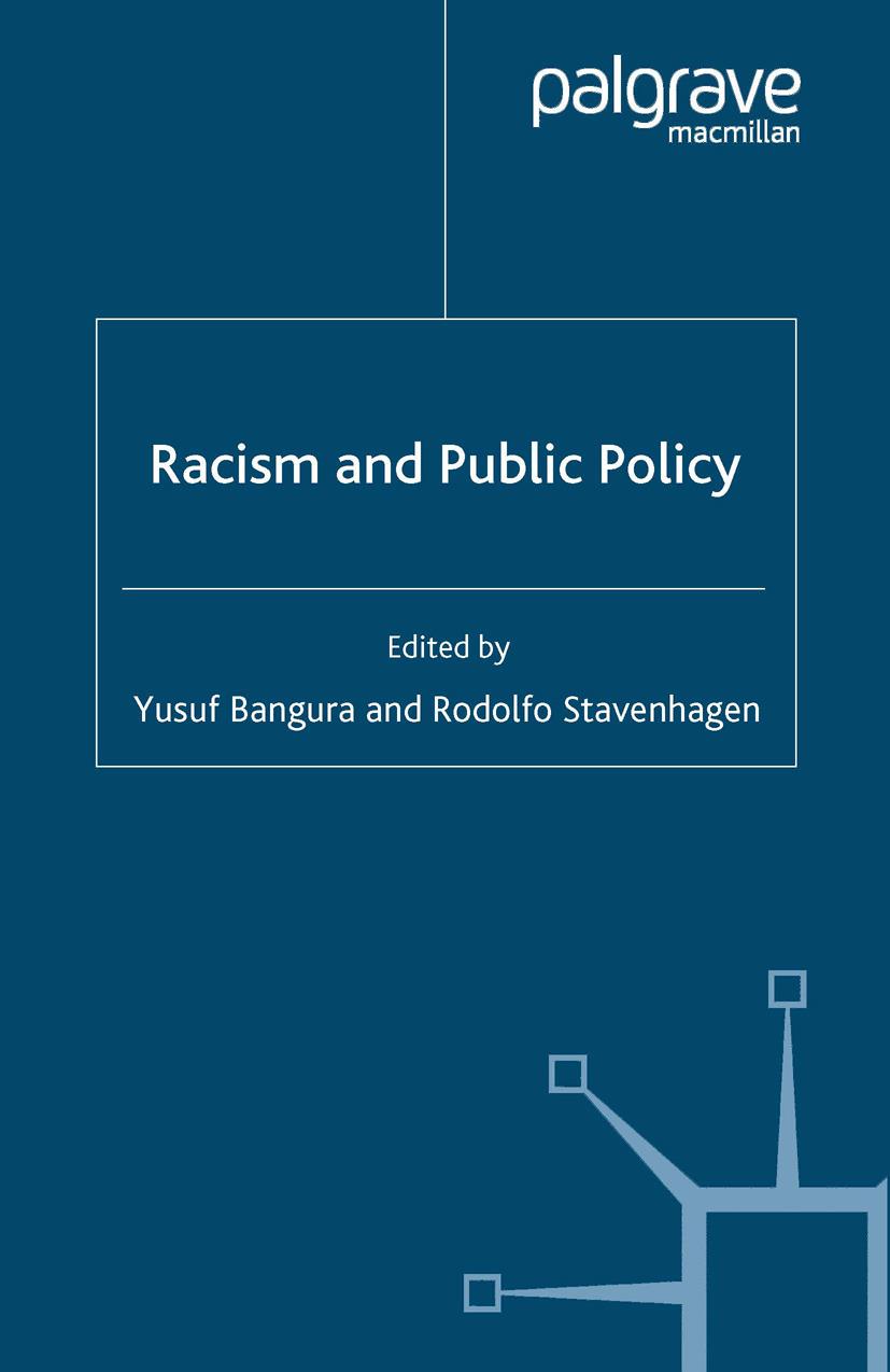 Bangura, Yusuf - Racism and Public Policy, ebook