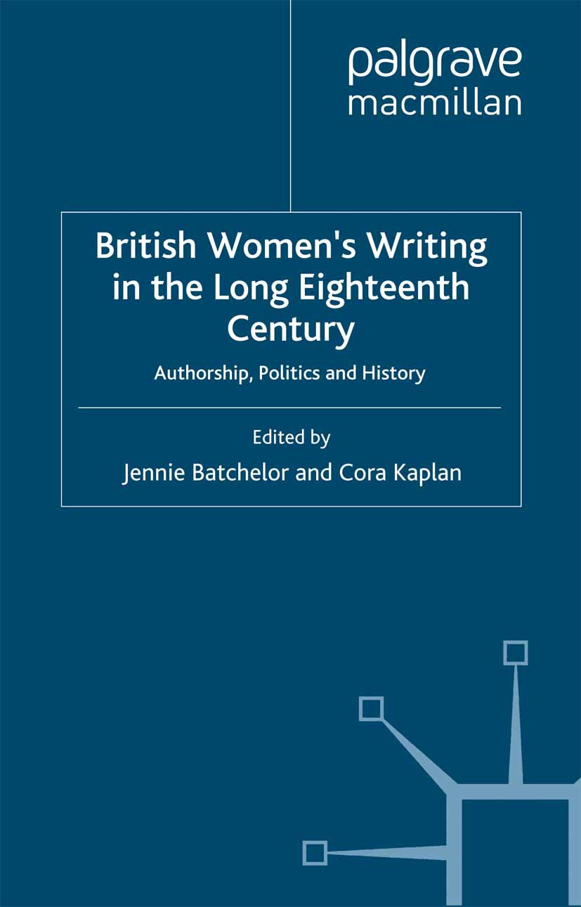 Batchelor, Jennie - British Women's Writing in the Long Eighteenth Century, ebook