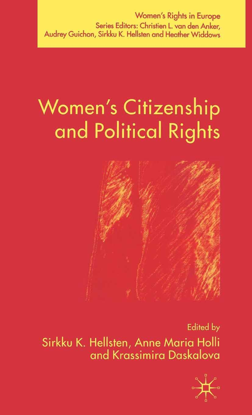 Daskalova, Krassimira - Women's Citizenship and Political Rights, ebook