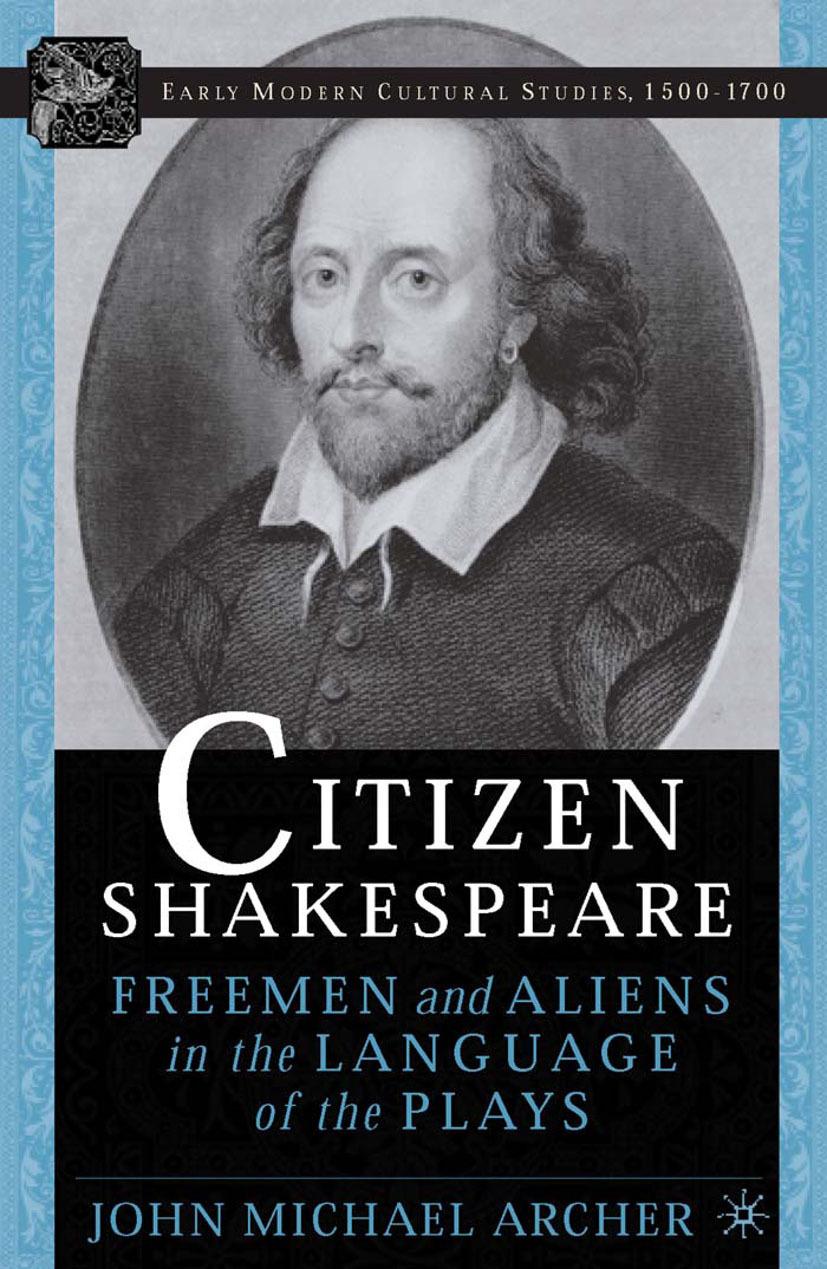 Archer, John Michael - Citizen Shakespeare, ebook