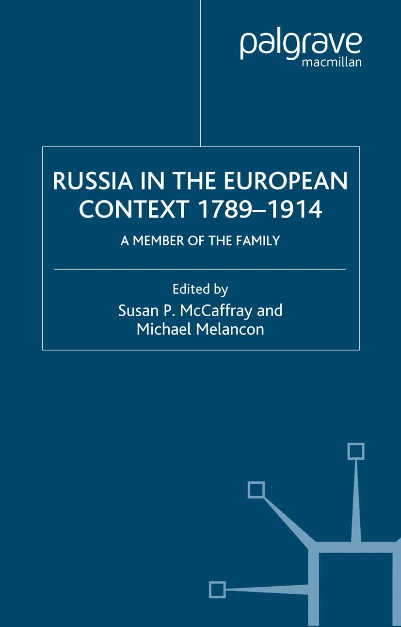 McCaffray, Susan P. - Russia in the European Context, 1789–1914, ebook