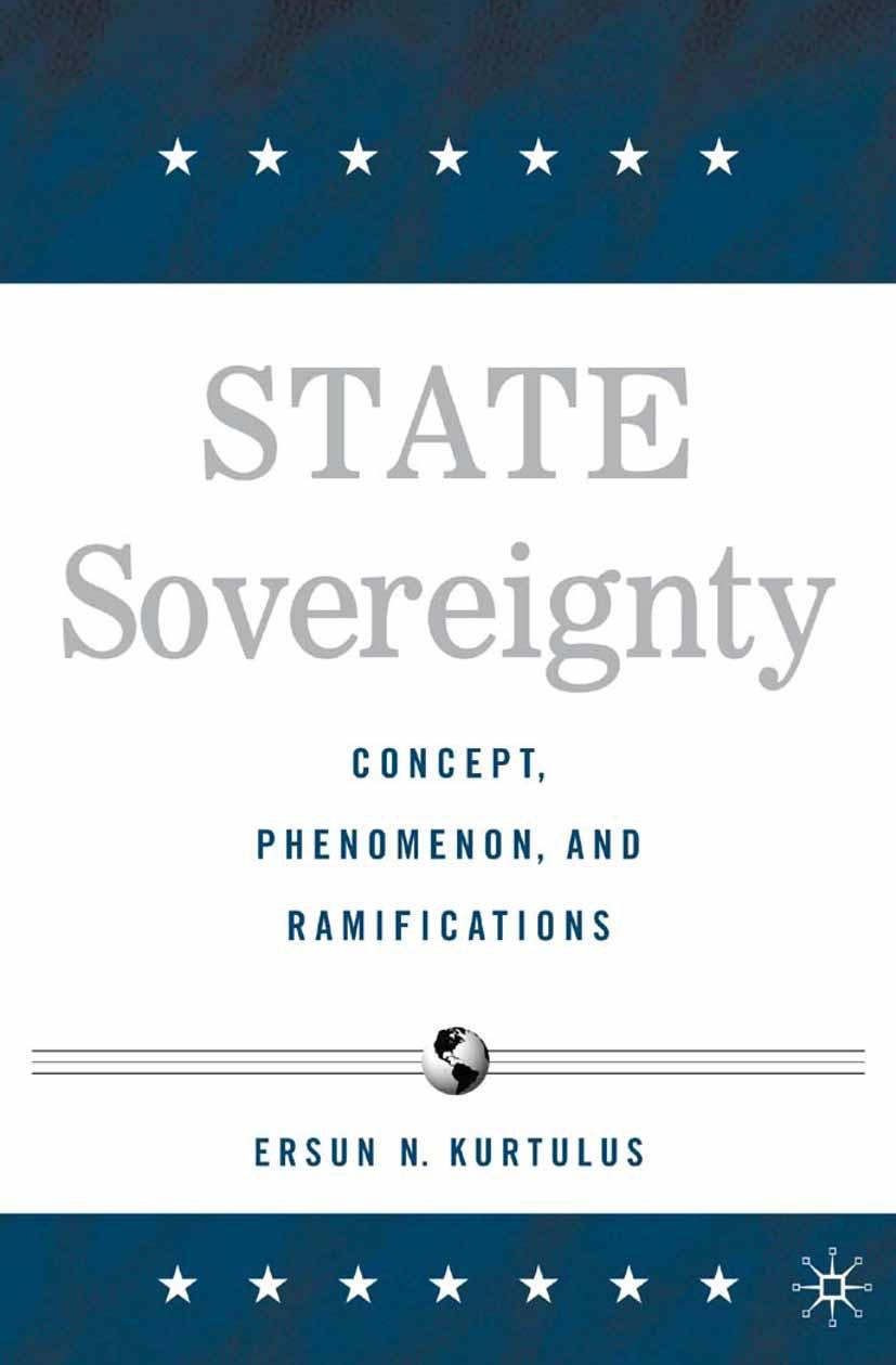 Kurtulus, Ersun N. - State Sovereignty, ebook