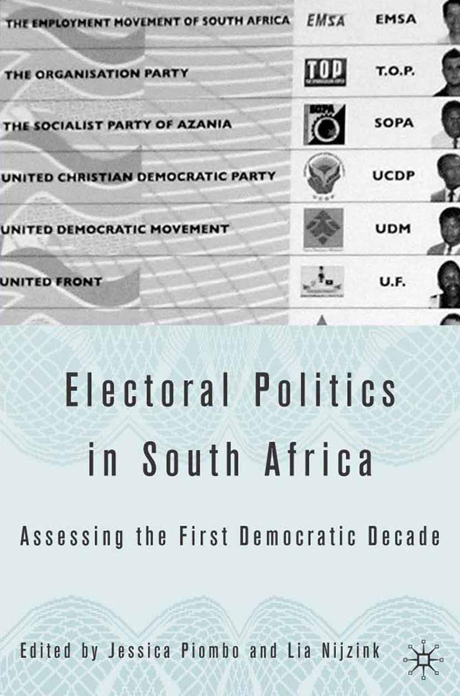 Nijzink, Lia - Electoral Politics in South Africa, ebook