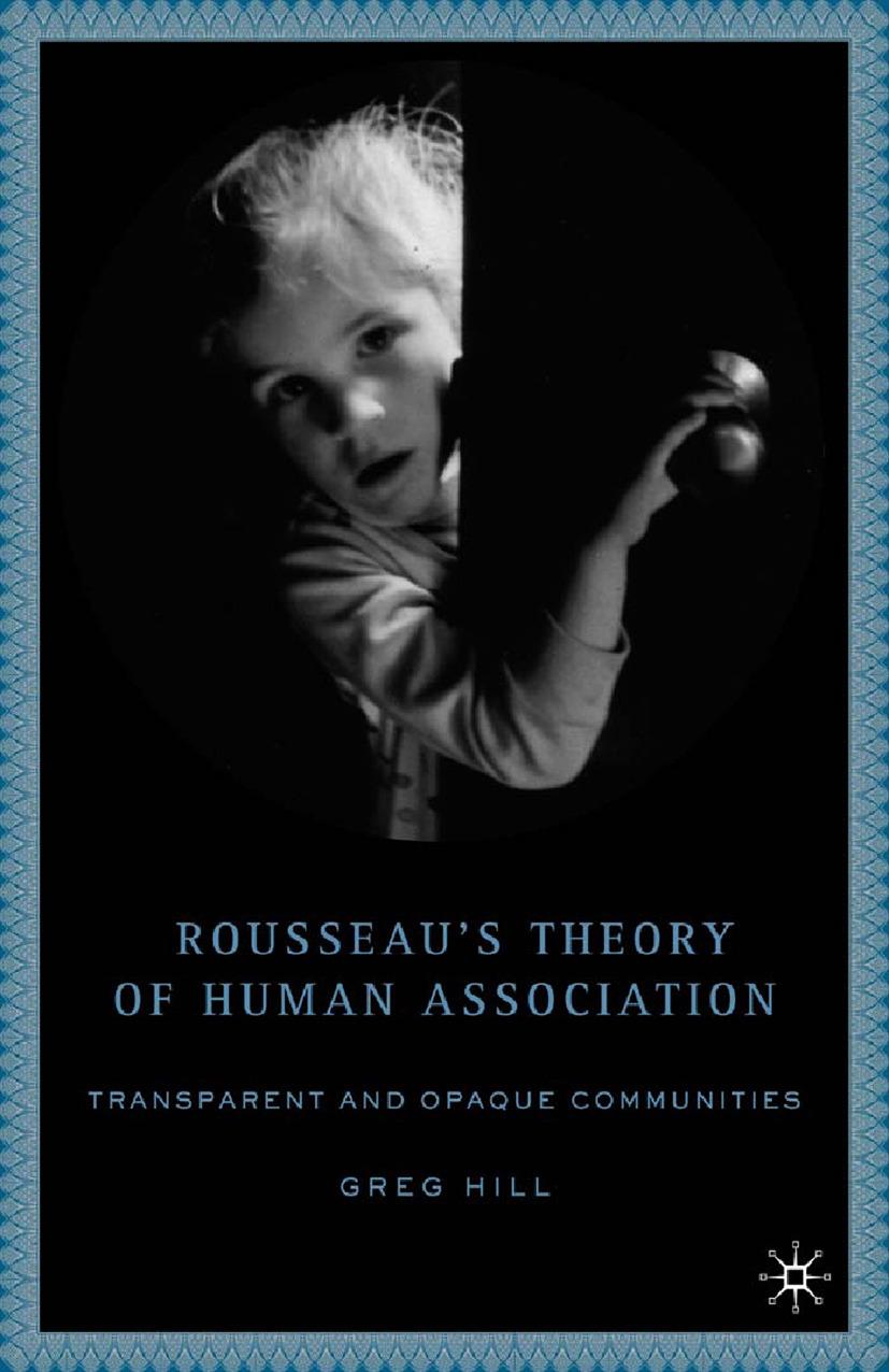 Hill, Greg - Rousseau's Theory of Human Association, ebook