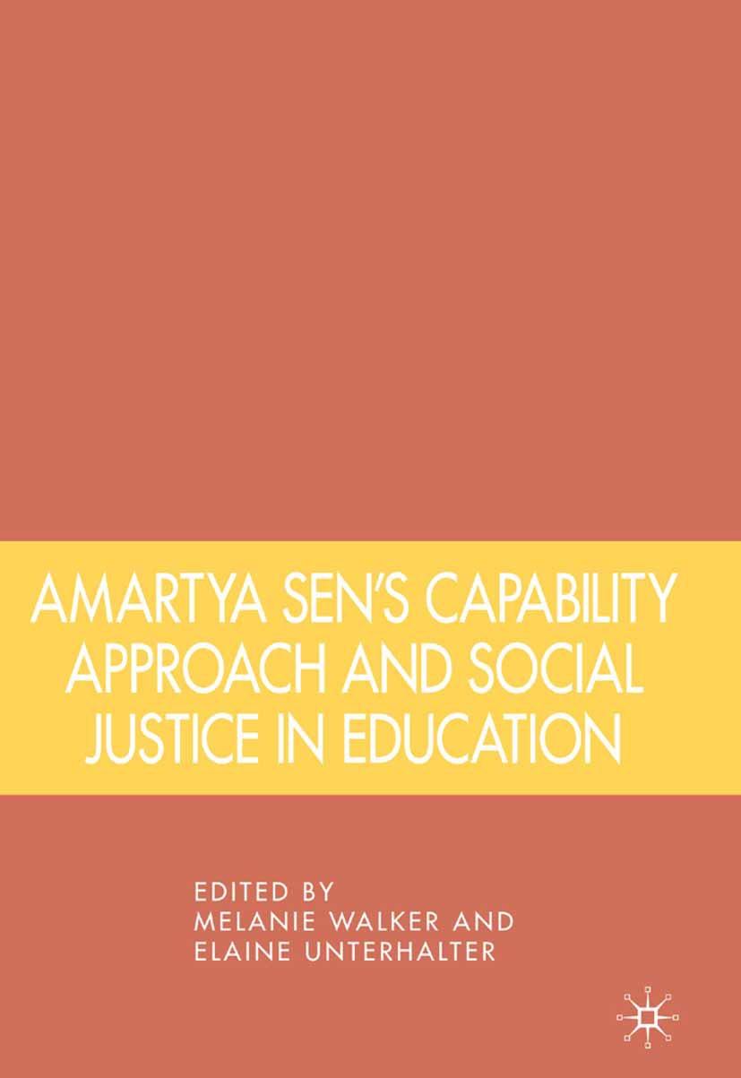 Unterhalter, Elaine - Amartya Sen's Capability Approach and Social Justice in Education, ebook