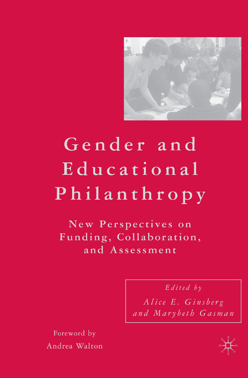 Gasman, Marybeth - Gender and Educational Philanthropy, ebook