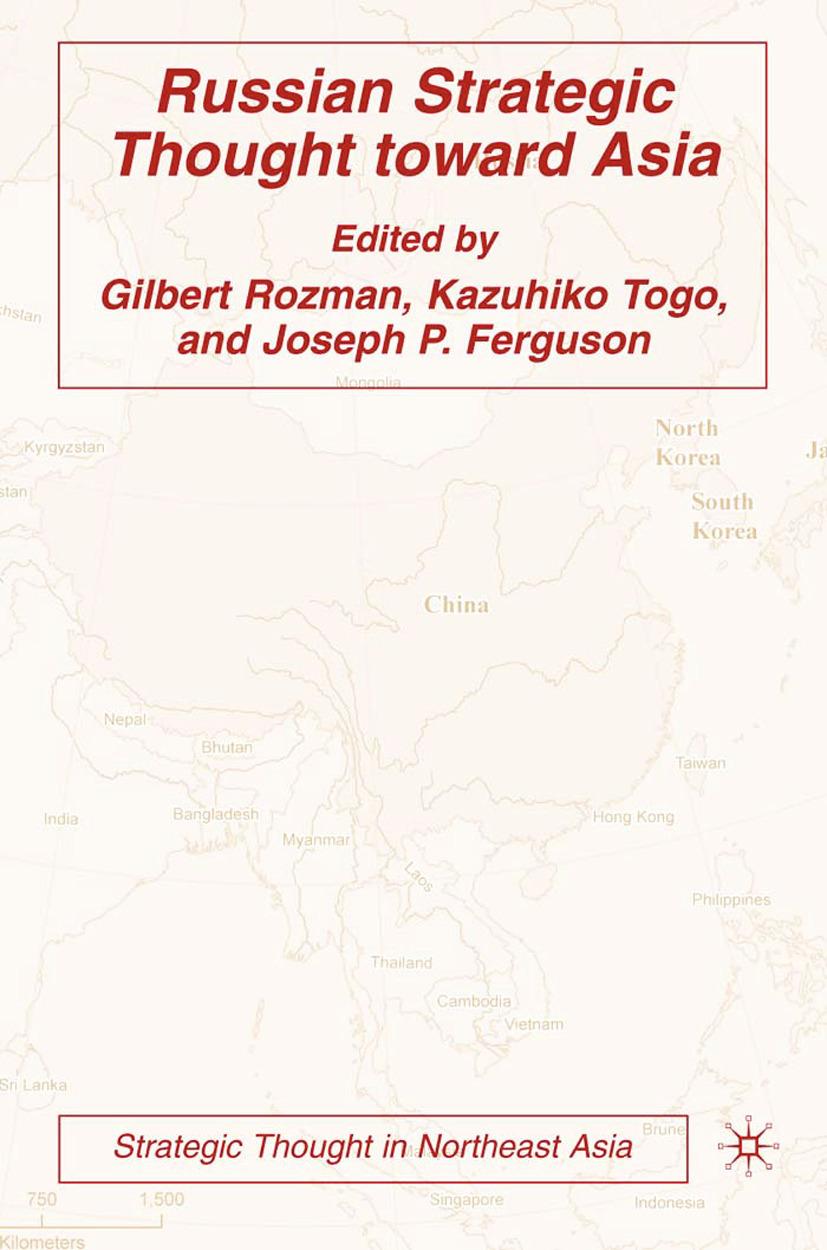 Ferguson, Joseph P. - Russian Strategic Thought Toward Asia, ebook