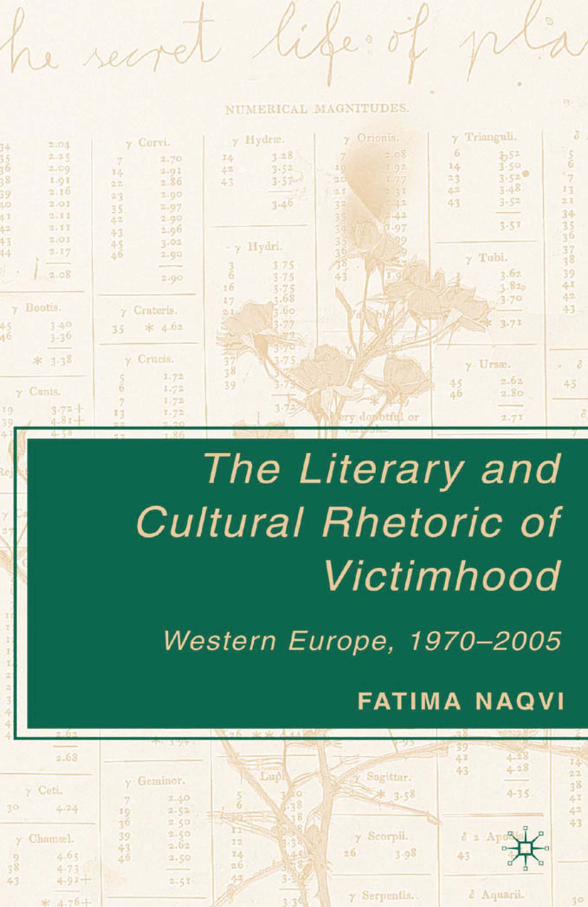 Naqvi, Fatima - The Literary and Cultural Rhetoric of Victimhood, ebook