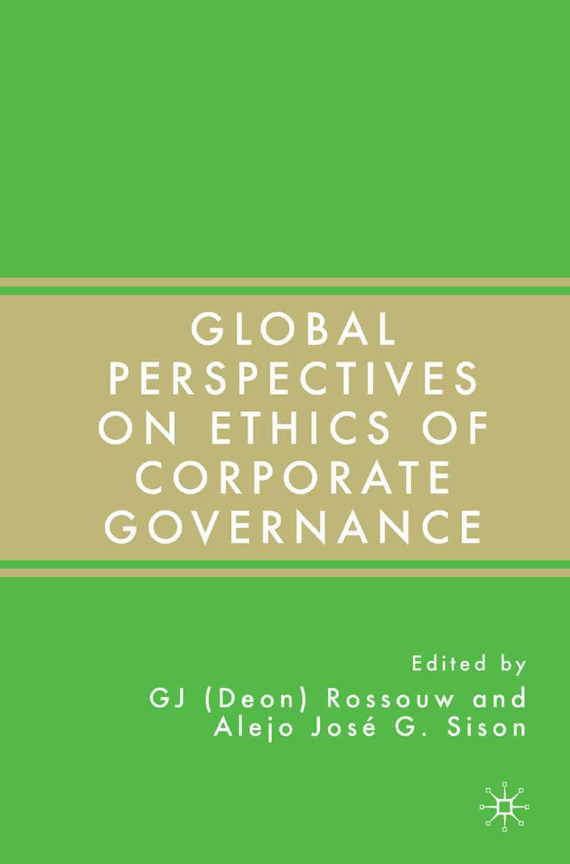 Rossouw, G. J. Deon - Global Perspectives on Ethics of Corporate Governance, ebook