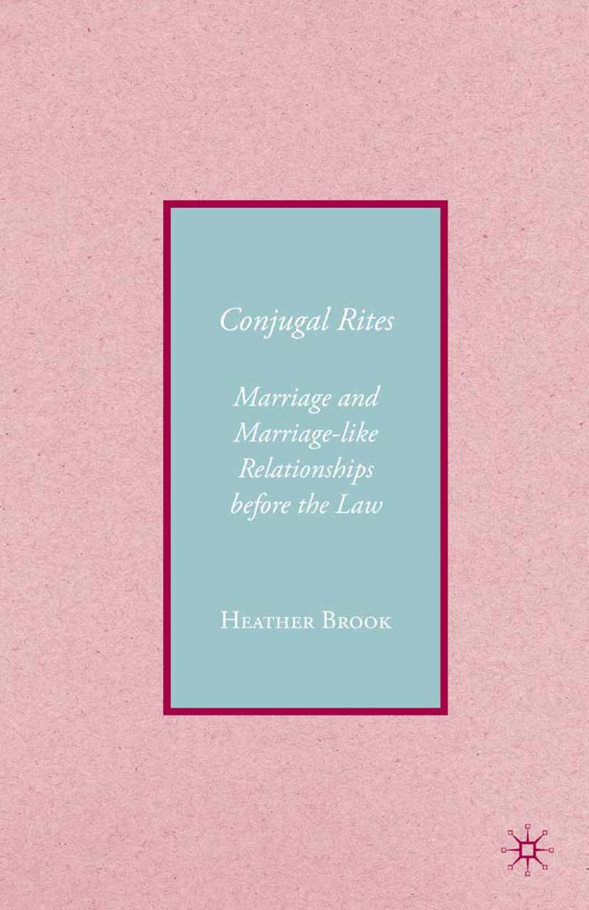 Brook, Heather - Conjugal Rites, ebook