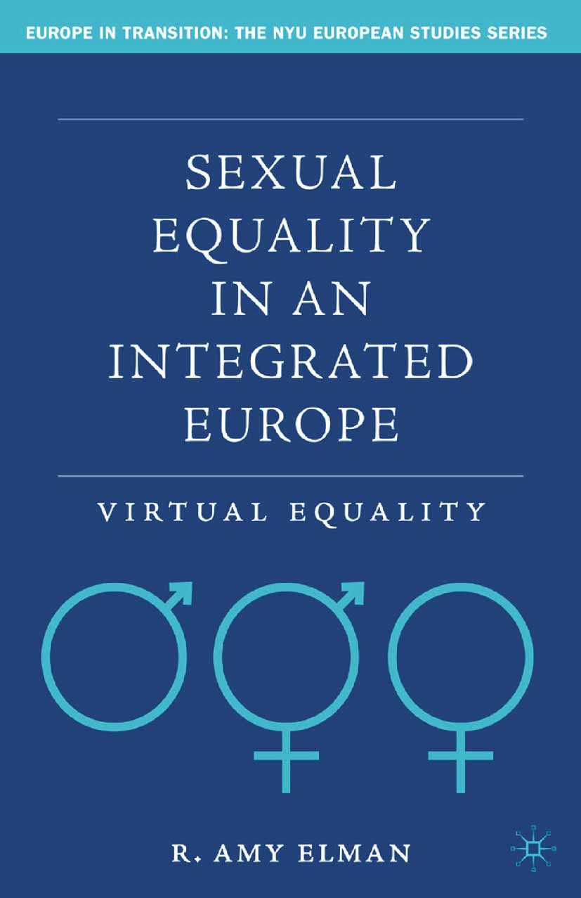 Elman, R. Amy - Sexual Equality in an Integrated Europe, e-kirja