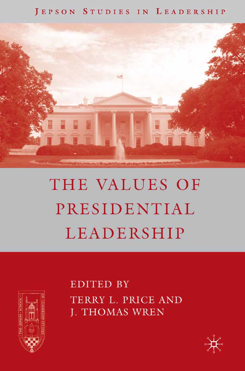 Price, Terry L. - The Values of Presidential Leadership, ebook