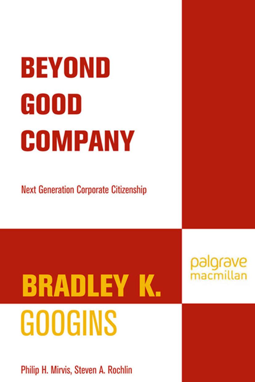 Googins, Bradley K. - Beyond Good Company, ebook