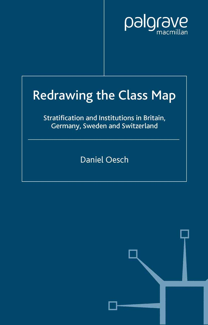 Oesch, Daniel - Redrawing the Class Map, ebook