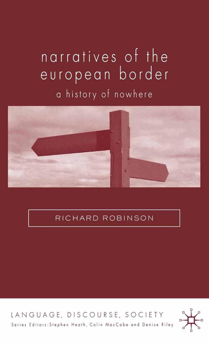 Robinson, Richard - Narratives of the European Border, ebook