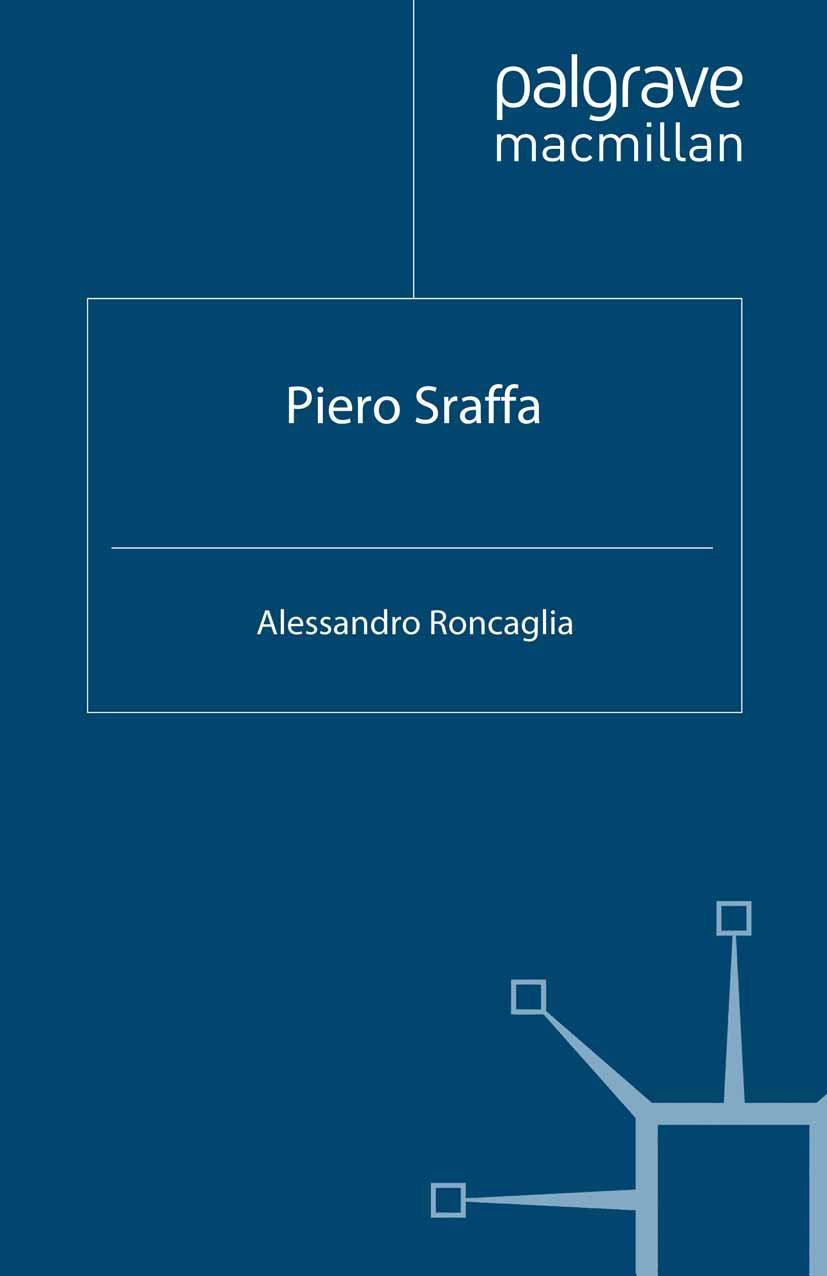 Roncaglia, Alessandro - Piero Sraffa, ebook