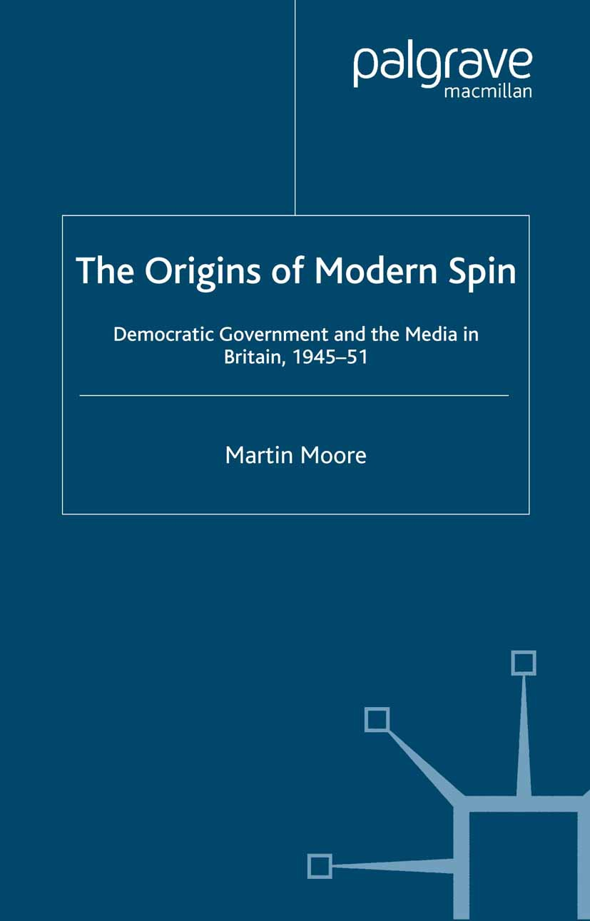Moore, Martin - The Origins of Modern Spin, ebook