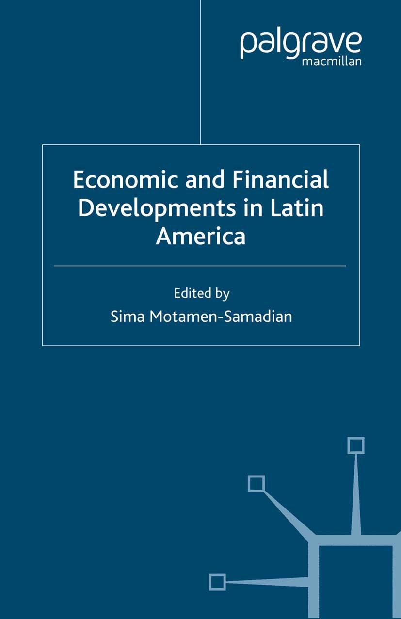 Motamen-Samadian, Sima - Economic and Financial Developments in Latin America, ebook