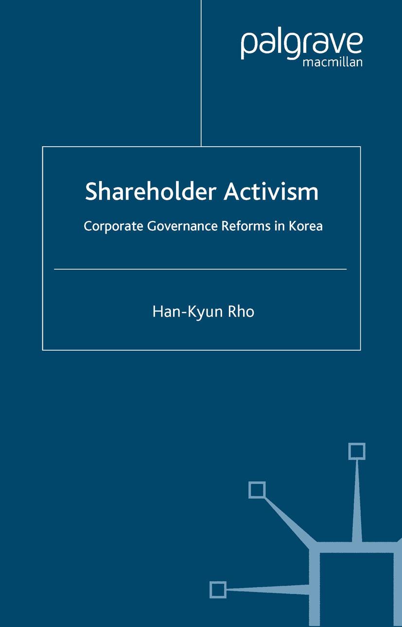 Rho, Han-Kyun - Shareholder Activism, ebook