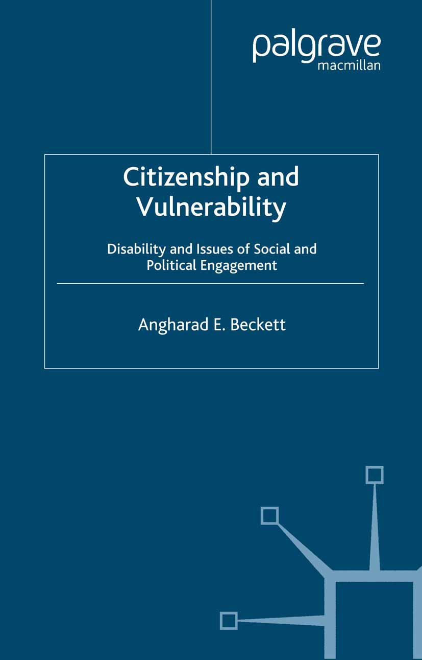 Beckett, Angharad E. - Citizenship and Vulnerability, ebook