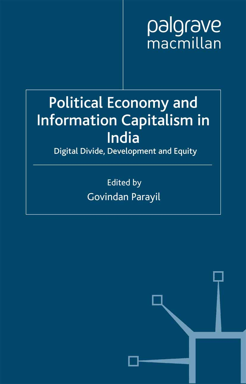 Parayil, Govindan - Political Economy and Information Capitalism in India, ebook