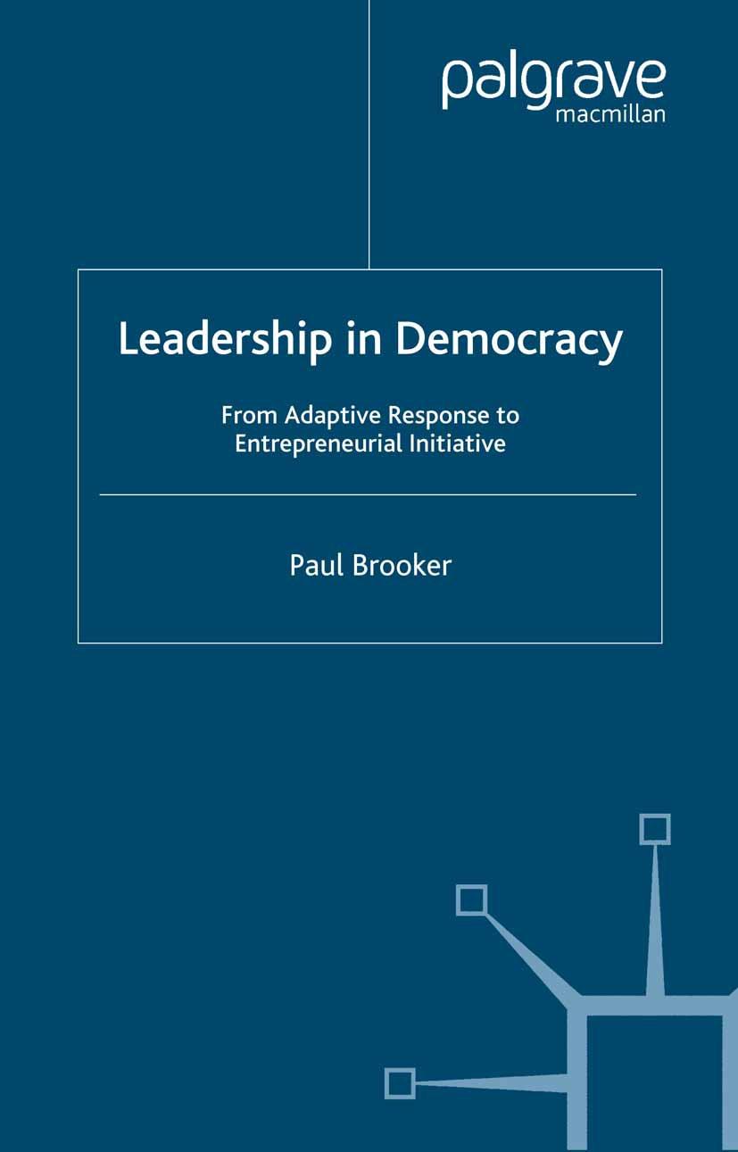 Brooker, Paul - Leadership in Democracy, ebook