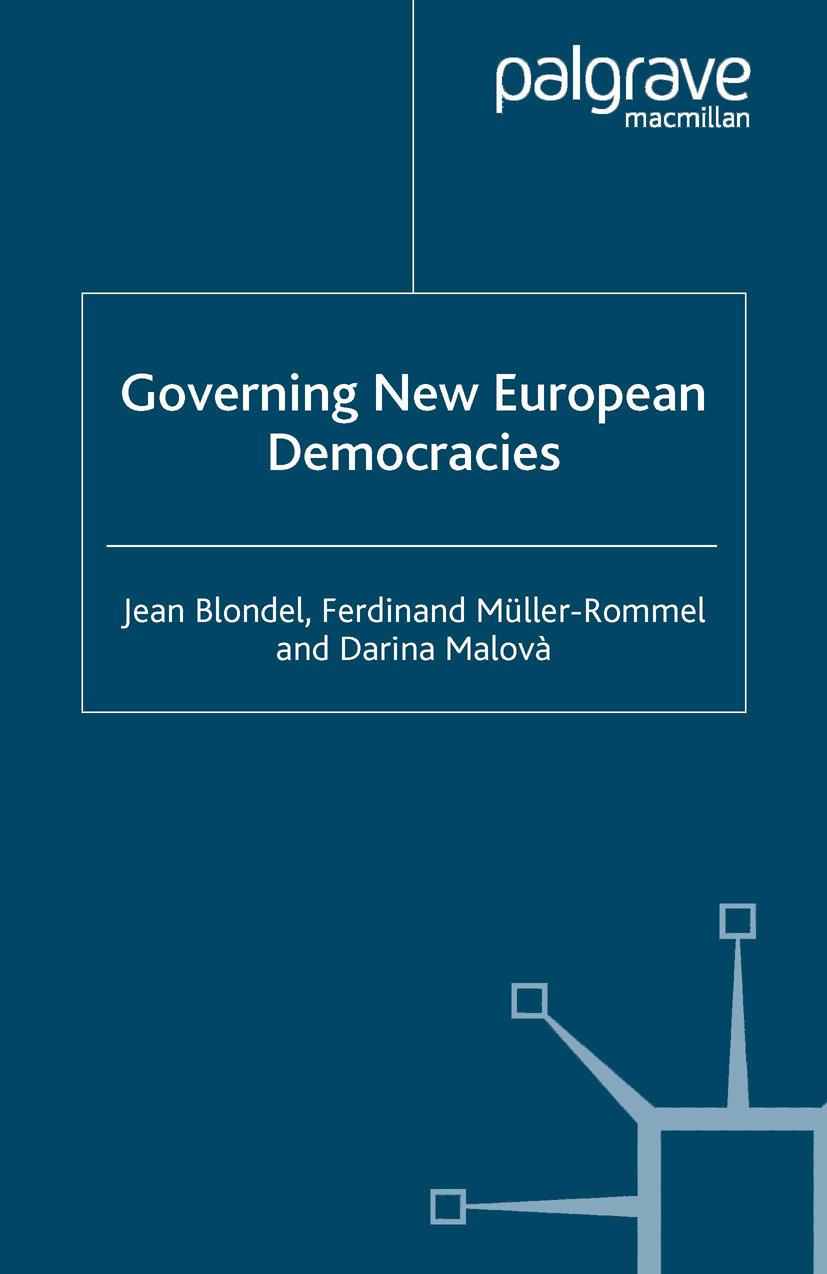Blondel, Jean - Governing New European Democracies, ebook