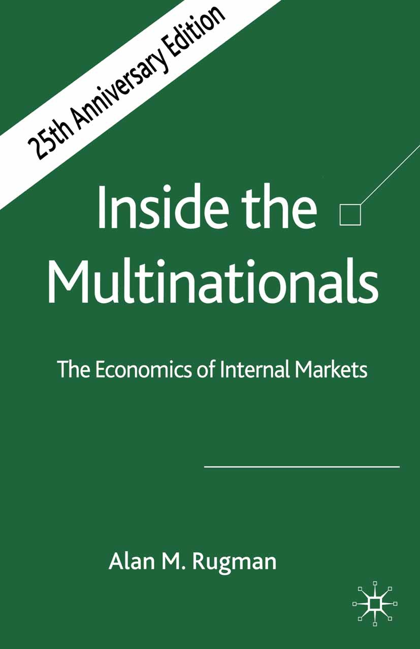 Rugman, Alan M. - Inside the Multinationals 25th Anniversary Edition, ebook