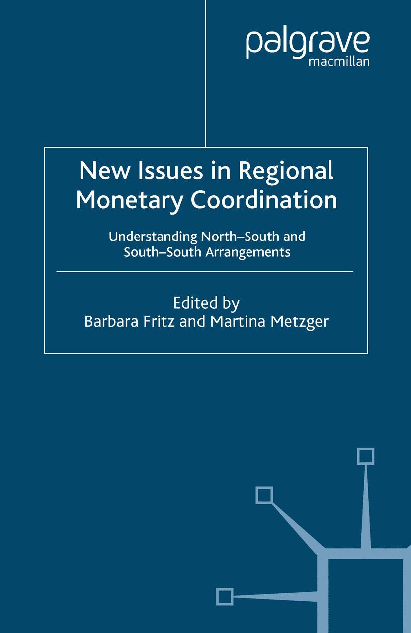 Fritz, Barbara - New Issues in Regional Monetary Coordination, ebook