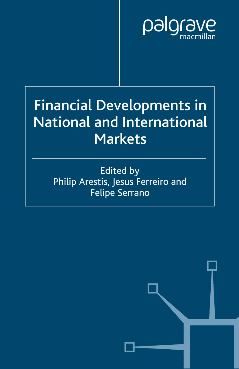 Arestis, Philip - Financial Developments in National and International Markets, e-kirja