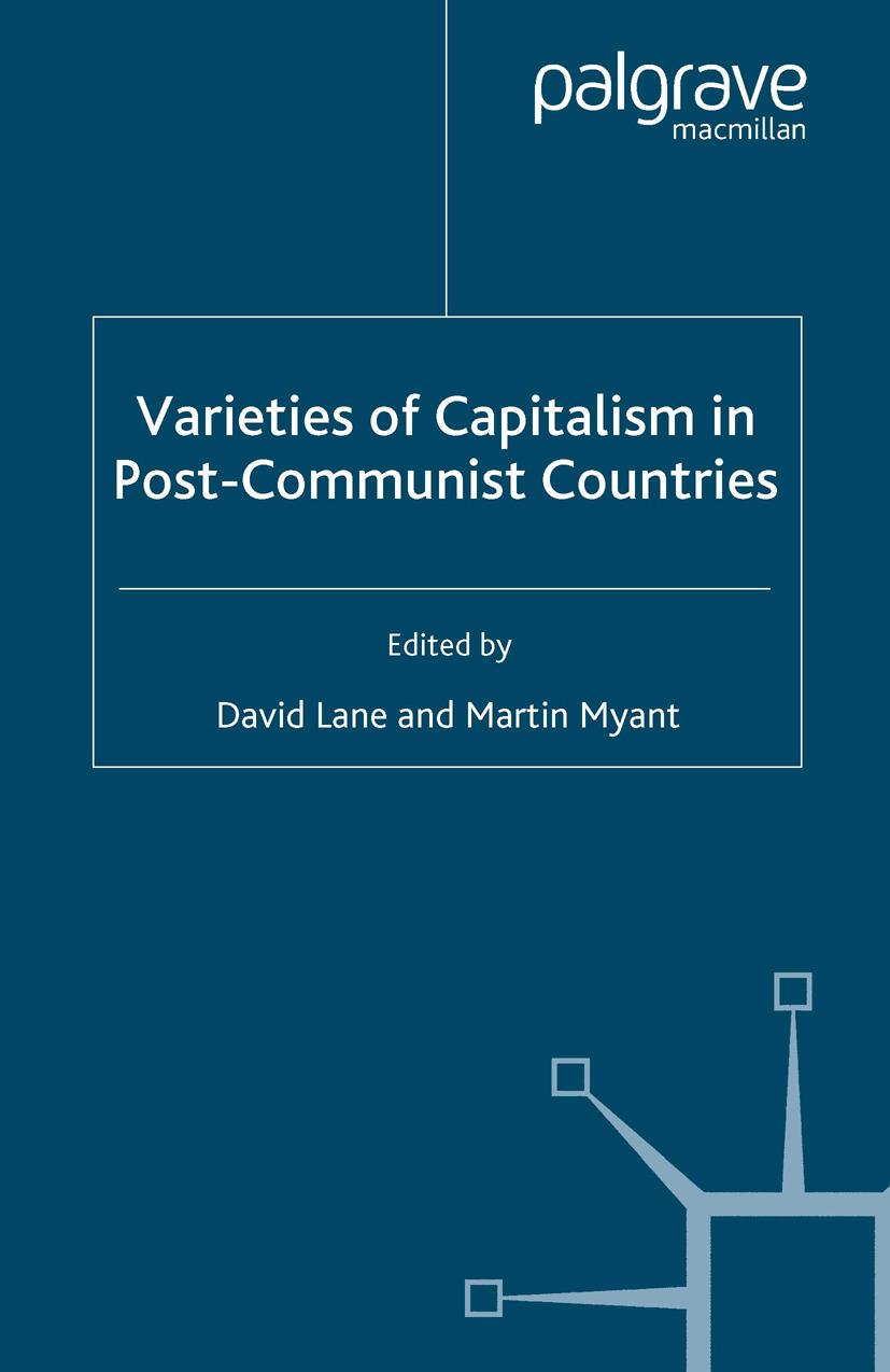 Lane, David - Varieties of Capitalism in Post-Communist Countries, ebook