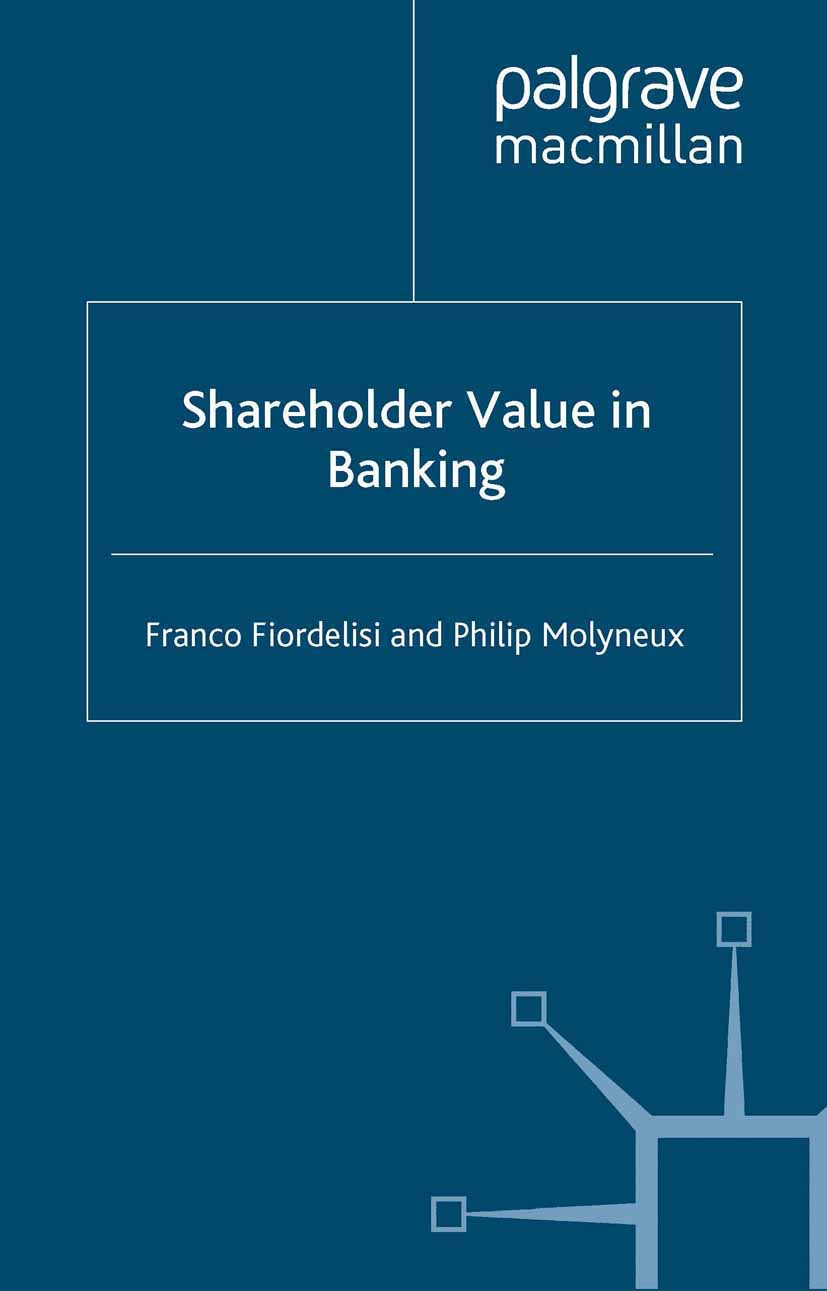 Fiordelisi, Franco - Shareholder Value in Banking, ebook