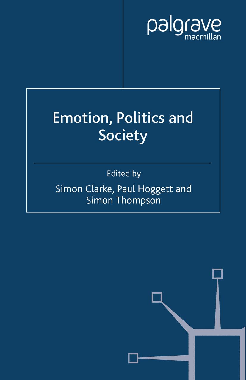Clarke, Simon - Emotion, Politics and Society, ebook
