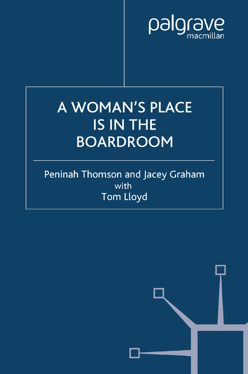 Graham, Jacey - A Woman's Place is in the Boardroom, ebook