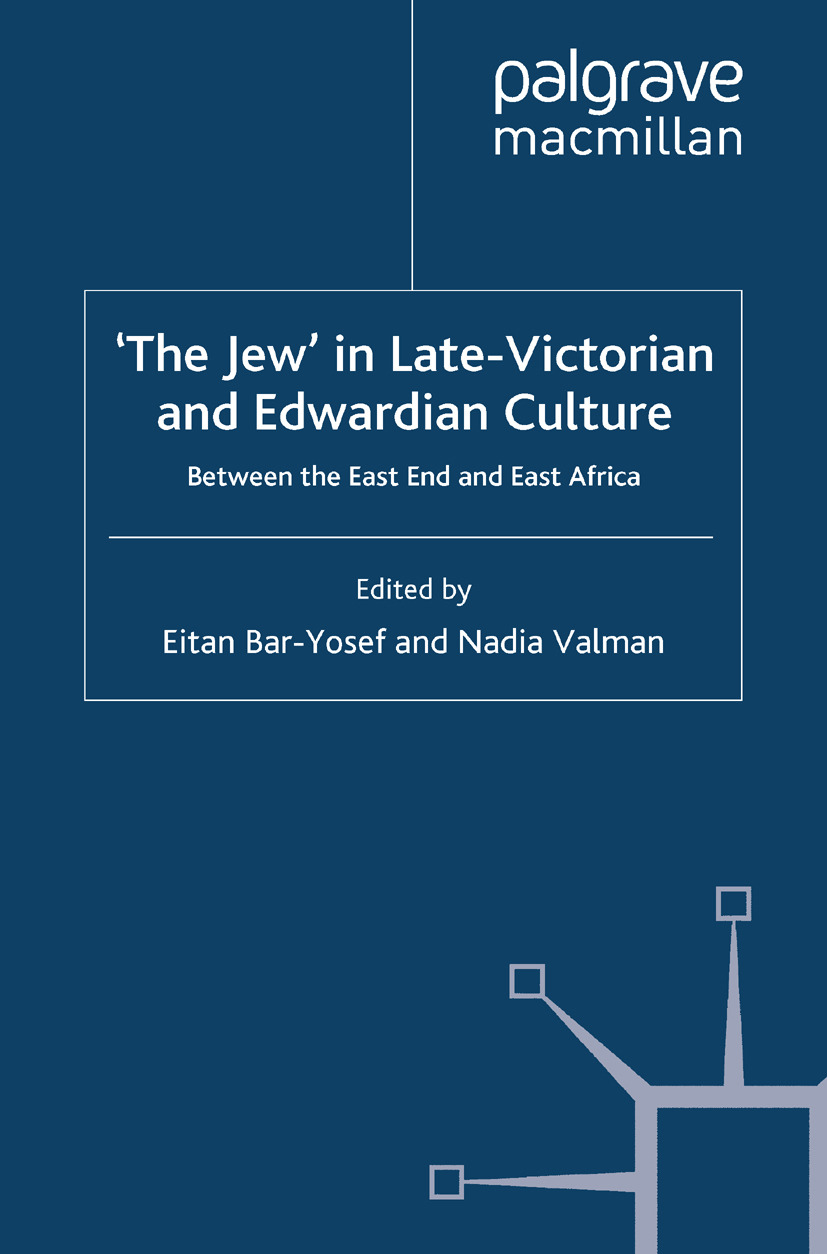 Bar-Yosef, Eitan - 'The Jew' in Late-Victorian and Edwardian Culture, ebook