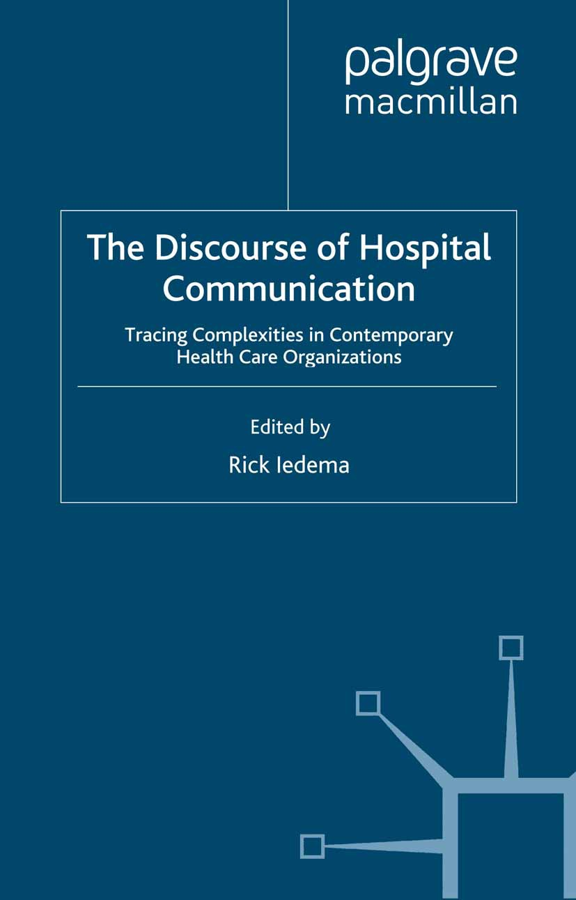 Iedema, Rick - The Discourse of Hospital Communication, ebook