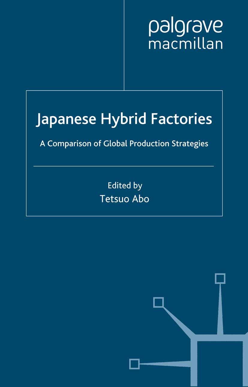 Abo, Tetsuo - Japanese Hybrid Factories, ebook