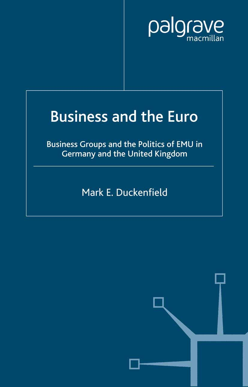 Duckenfield, Mark E. - Business and the Euro, ebook