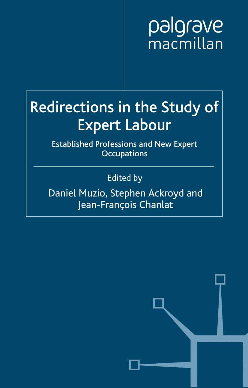 Ackroyd, Stephen - Redirections in the Study of Expert Labour, ebook